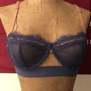 Free people NWT lace bra 32D